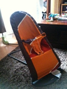 Things I'm Glad I Bought- The Baby Bjorn Babysitter Balance Chair
